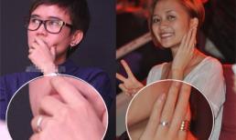 Thiều Bảo Trang và Phương Uyên đeo nhẫn đôi?