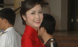 Top 5 HHVN Vũ Ngọc Anh khoe nét xuân thì trong tà áo dài đỏ