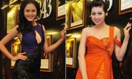 Ngắm nhan sắc đang thời 'nở rộ' của hai Á hậu Việt 2012