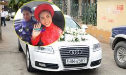 Louis Nguyễn rước dâu bằng 'xế hộp tiền tỷ' của Hà Tăng