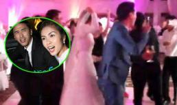 Choáng với màn nhảy Gangnam Style Hà Tăng trong đám cưới