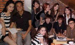 Cường Đô La cùng team Hà Hồ mừng sinh nhật Phương Uyên