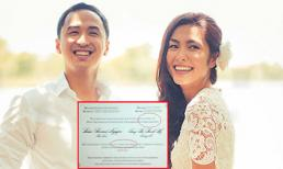 Thiệp cưới Tăng Thanh Hà dính lỗi chính tả?