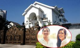 Cận cảnh biệt thự sang trọng của chồng Tăng Thanh Hà