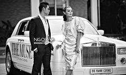 """Lê Thúy, Khôi Nguyên """"hẹn hò"""" bên siêu xe triệu đô"""