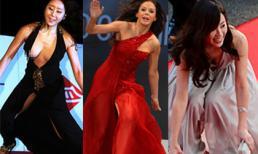 Sao và những pha giẫm váy nhớ đời trên thảm đỏ