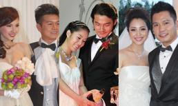 Những mỹ nhân Việt khệ nệ bụng bầu trong lễ cưới năm qua