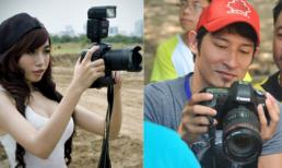 Khi Sao Việt trổ tài làm paparazzi