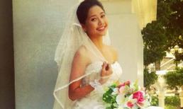 Tường Vi khoe ảnh cưới cực xinh
