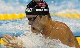 Nhà vô địch bơi lội thế giới đột tử trong phòng tắm