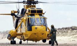 Hạ cánh trực thăng để... mua kem
