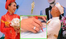 Những chiếc nhẫn cưới tuyệt đẹp của Sao Việt