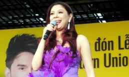 Thanh Thảo suýt ngất trên sân khấu Hàn Quốc