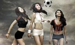 Trọn bộ ảnh hot girl Việt cuồng nhiệt cùng Euro
