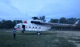 Hà Tĩnh xôn xao vụ đưa người đi cấp cứu bằng trực thăng