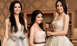 Ngắm 3 đại mỹ nhân Việt kiêu kỳ trong những bộ váy trắng quý tộc