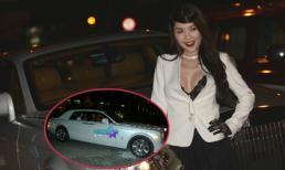Quế Vân diện áo ren sexy bên siêu xe hàng chục tỉ tham dự sự kiện