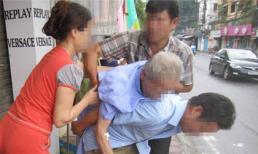 Chân dung dâu trưởng để bố ốm nằm vỉa hè