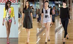 Đột nhập hậu trường tập dượt Elle Fashion Show 2012