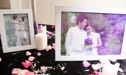 Khung cảnh cưới tràn ngập sắc tím lãng mạn của hotgirl Diệp Bảo Ngọc