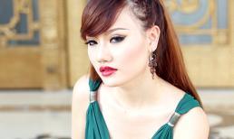 Hotgirl Jolie Dương diện đầm dạ hội khoe da trắng muốt