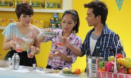 Cận cảnh Top 3 Vietnam Idol làm bánh tặng Mỹ Tâm