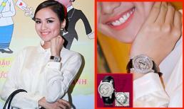 Diễm Hương đeo đồng hồ nạm kim cương hơn 5 tỷ