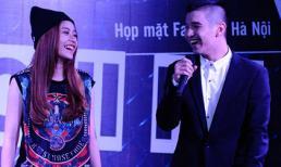 Cường Seven hát tặng Chi Pu trong buổi họp fans ở Hà Nội