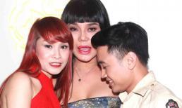 Cindy Thái Tài vô tư để Don Nguyễn