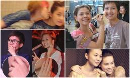 Phái nữ trong showbiz Việt liên tục bị đồn... yêu nhau