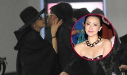 Lưu Gia Linh nồng nhiệt hôn trai trẻ
