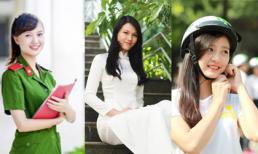 Ngây ngất với vẻ đẹp của 3 hoa khôi xinh nhất Hà Thành
