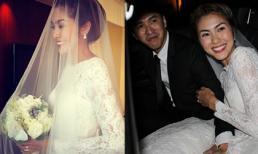 Hà Tăng khoe ảnh cô dâu nhân kỉ niệm 1 năm ngày cưới