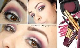 5 gam màu hot nhất make-up mùa đông 2013