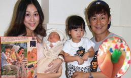 Con gái lớn 2 tuổi của Trần Hạo Dân bị bảo mẫu châm đinh