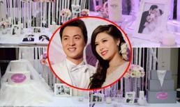 Gu trang trí tiệc cưới tiền tỷ của sao Việt