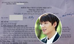 Kim Tan bất ngờ có mặt trong... đề thi Vật lí
