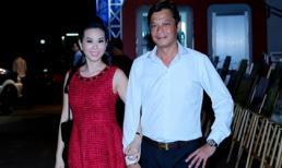 Vợ chồng hoa hậu Thu Hoài
