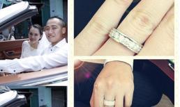 Cận cảnh nhẫn cưới tuyệt đẹp của vợ chồng Ngọc Thạch ngày đầu năm mới