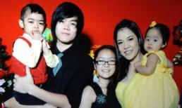 Ảnh hạnh phúc của gia đình ca sĩ Thu Phương
