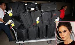 Soi hành lý khủng của sao khi đi du lịch