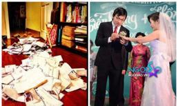 Giáo sư Xoay phấn khởi khoe tiền mừng sau đám cưới