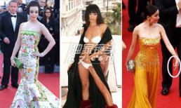 """Những sự cố """"bẽ bàng"""" của sao Hoa ngữ tại Cannes"""