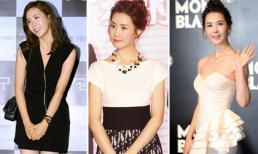 Học Lee Da Hae chọn đầm đen trắng khoe vẻ đẹp cơ thể