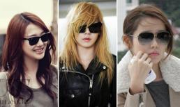 Học sao Hàn chọn kính đa phong cách