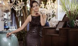 Hoa hậu Bảo Ngọc khoe dáng quyến rũ với váy dạ hội