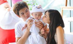 Những khoảnh khắc hạnh phúc của gia đình Trương Quỳnh Anh