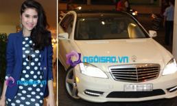 Bạn gái Vĩnh Thuỵ cầm lái siêu xe 7 tỷ đi dự tiệc