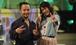 Hari Won nhí nhảnh bên cạnh bạn trai Tiến Đạt