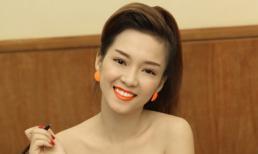 Đinh Hương sexy đi làm giám khảo cuộc thi hát Kpop